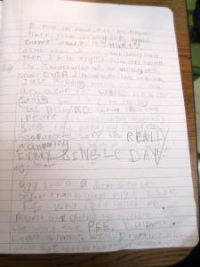 Brain dump page 2