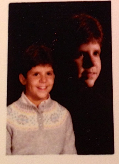 Here I am in sixth grade, 1982.